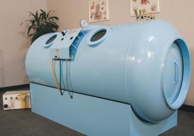 Hyperbaric Oxygen Chamber at ATX Hyperbarics